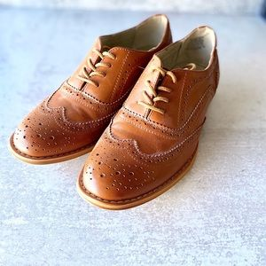*Like New* WANTED OXFORDS - Brown